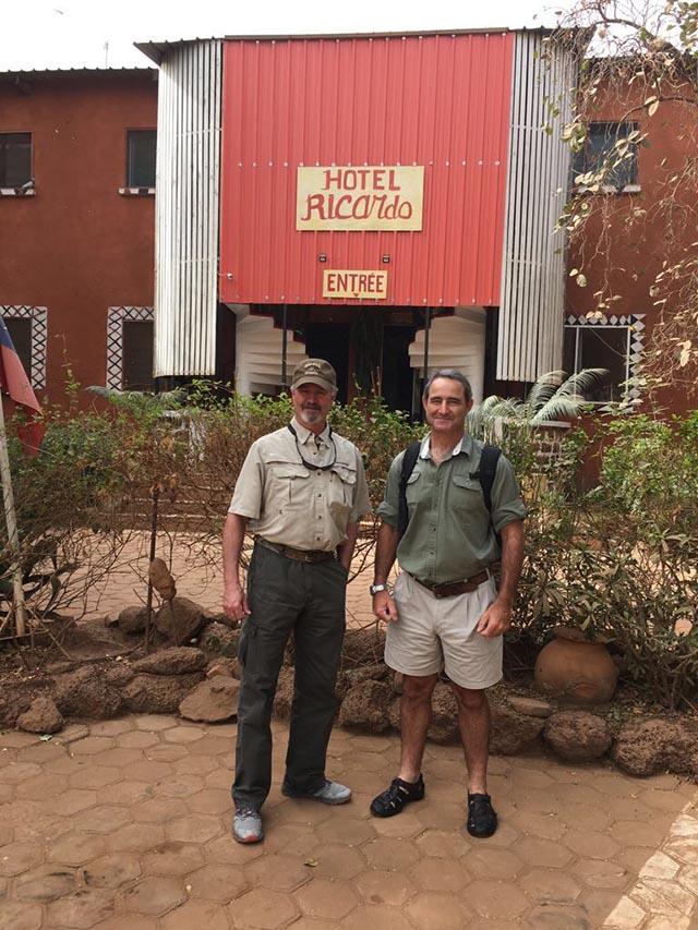 harnessed bushbuck tanzania